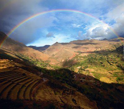 Full Rainbow at Pisac